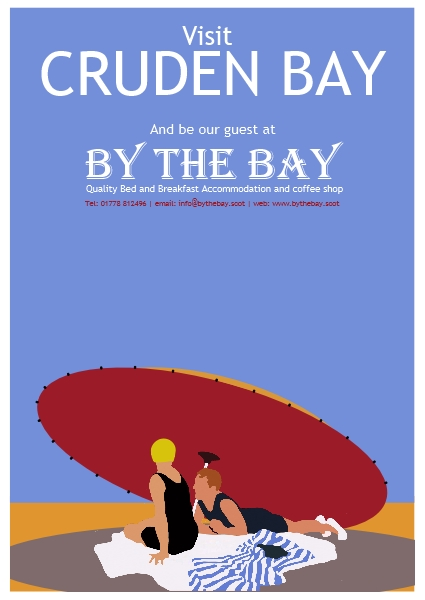 By The Bay parasol poster